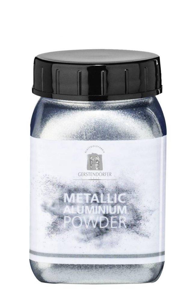 Strieborný prach - práškové farby na zlátenie
