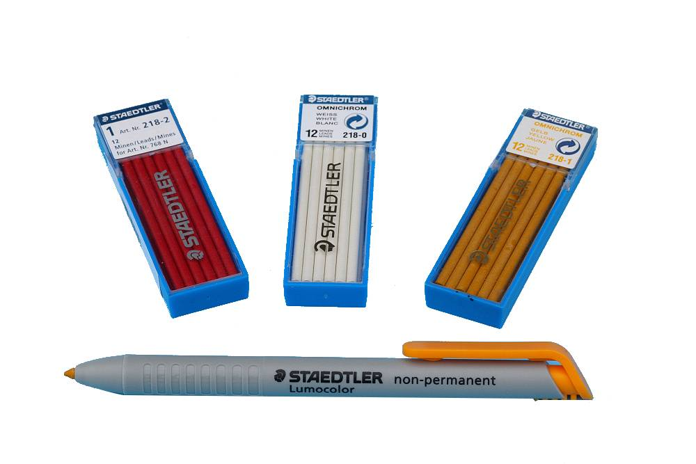 Vysúvacia ceruzka a tuhy - potreby na zlátenie