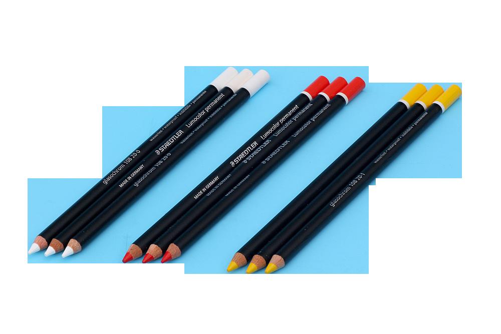 Drevené ceruzky - potreby na zlátenie